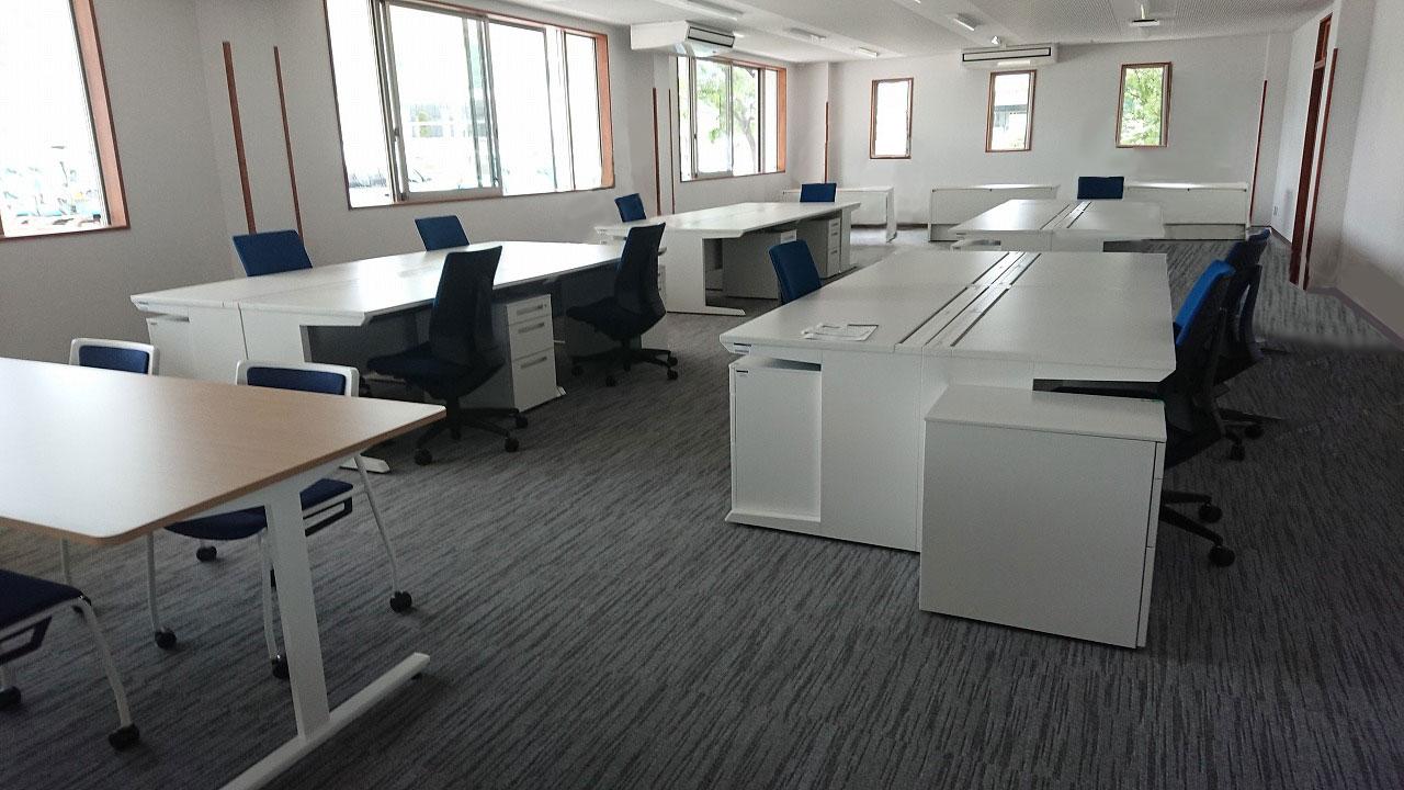 事務所新設に伴うオフィスレイアウト設計